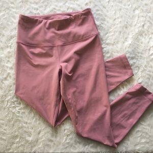 90 degree / dusty rose blush full length leggings